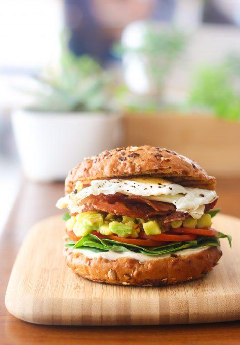 6. Hangover Brekker Burger